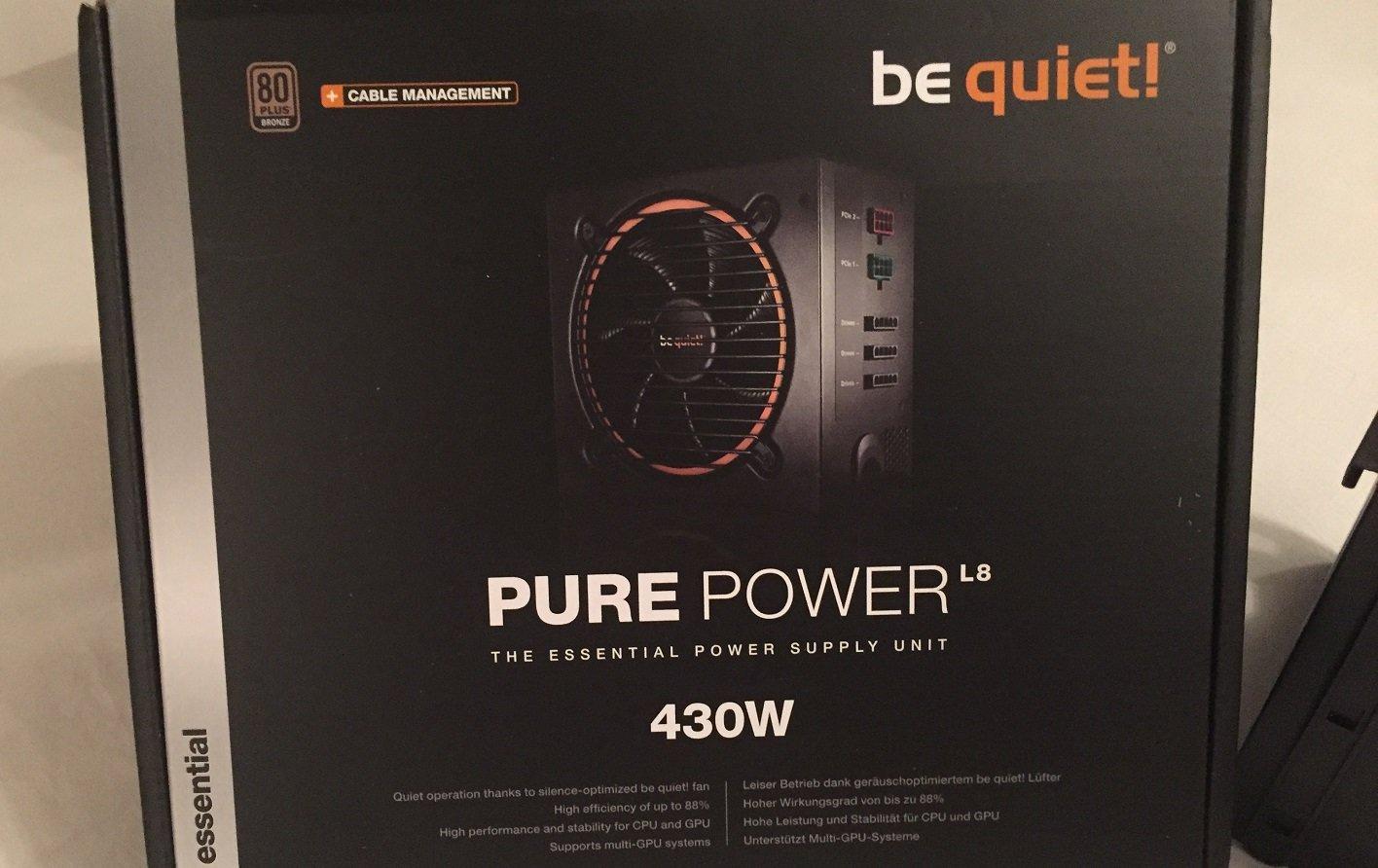 Be quiet 430W