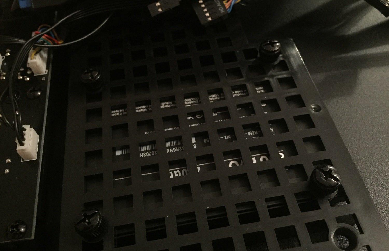 BitFenix SSD-Seitenwand