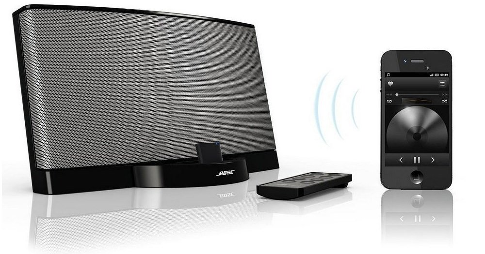 bluetooth nachr sten bei bose sounddock und anderen 30 pin. Black Bedroom Furniture Sets. Home Design Ideas