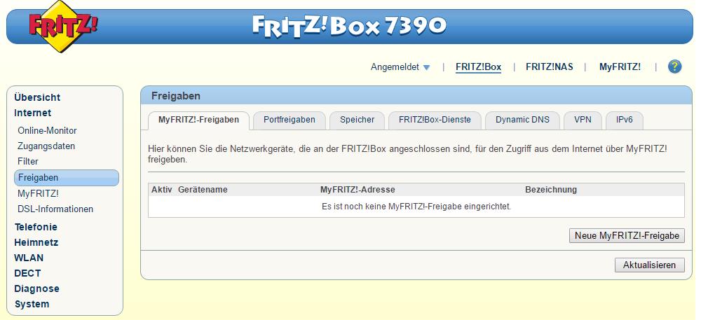Homematic - VPN fritz
