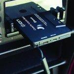 Kassettenadapter mit Bluetooth fürs Autoradio