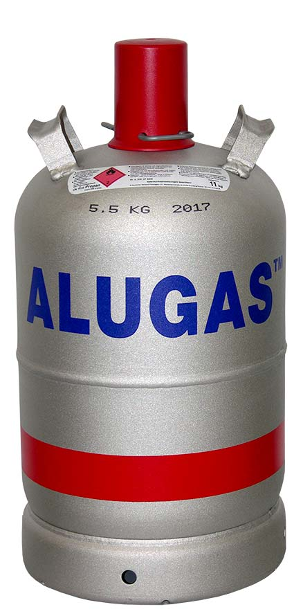 Alugasflasche