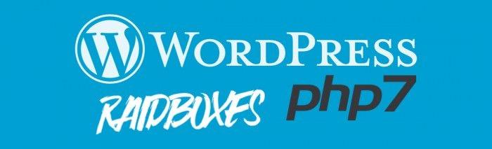 wordpress-PHP7-Raidboxes