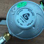 Welchen Druckregler kann ich verwenden 30 oder 50 mbar?