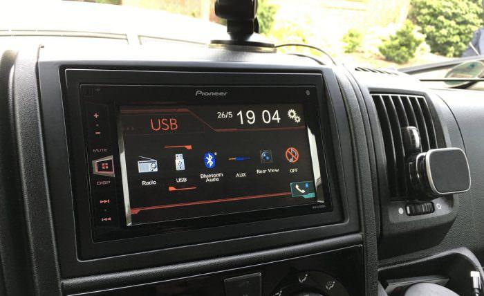 Weihnachtsgeschenk bis 200 Euro: Doppel DIN Radio von Pioneer