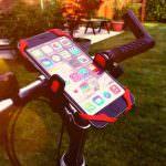 Smartphone-Halterung für den Fahrradlenker