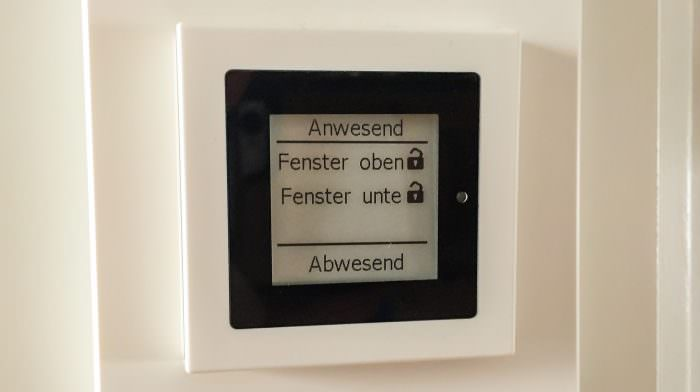 Homematic: E-Paper-Display als Status-Anzeige