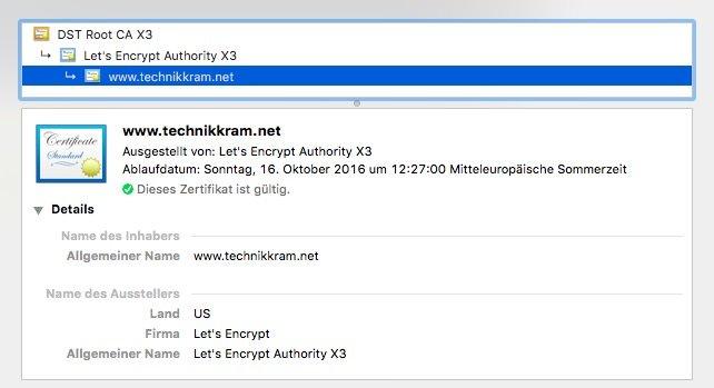 technikkram.net jetzt SSL verschlüsselt
