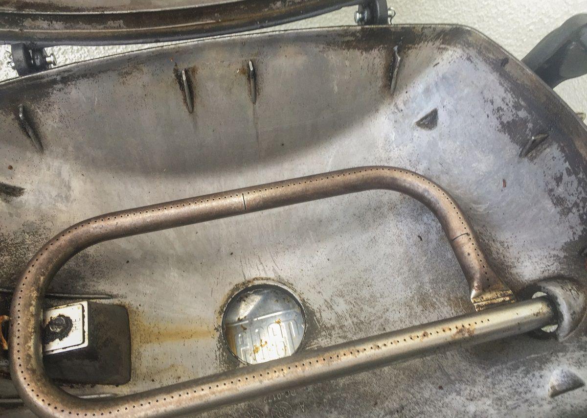 Weber Q1200 - nach der Reinigung
