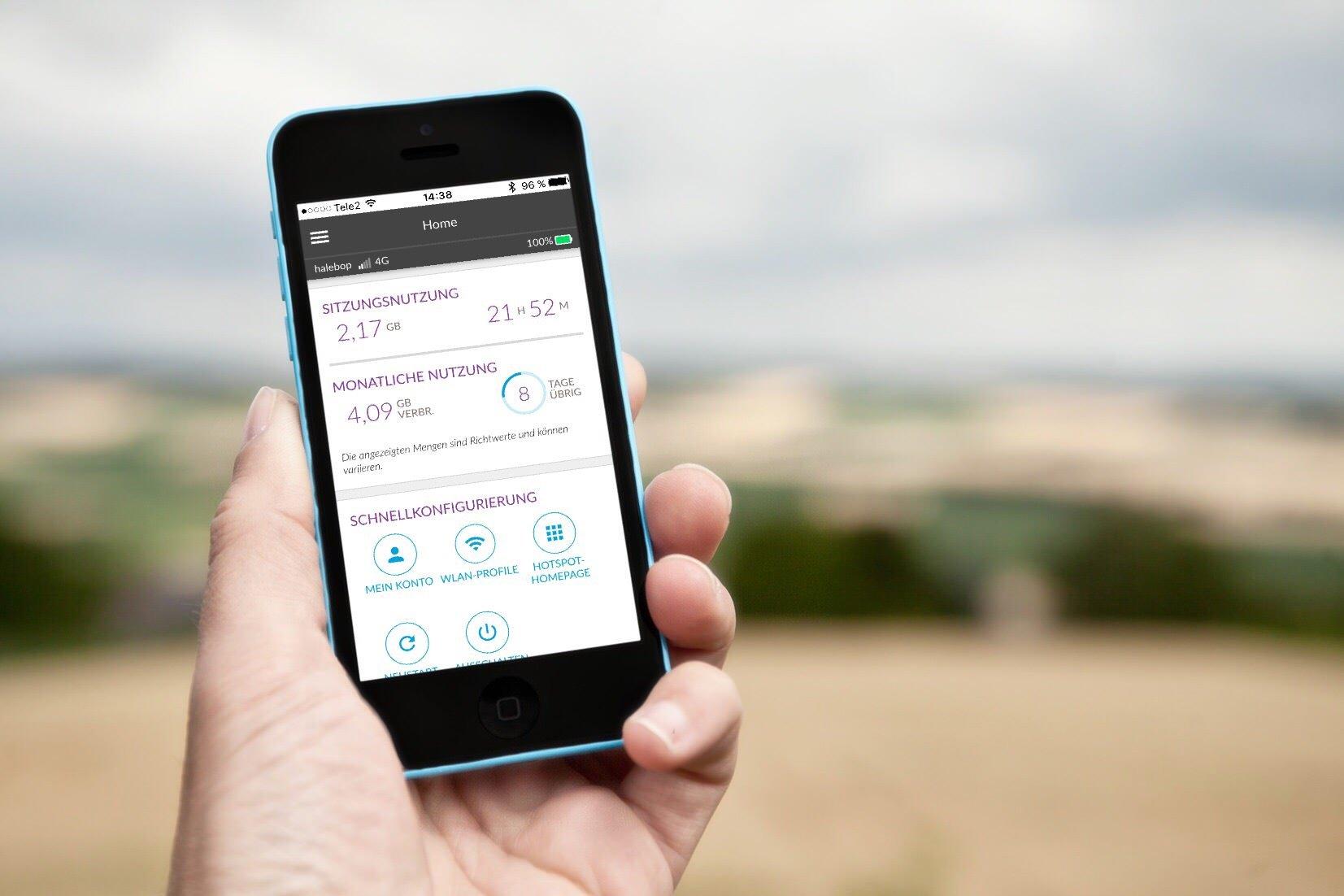 Update für die Netgear AirCard App