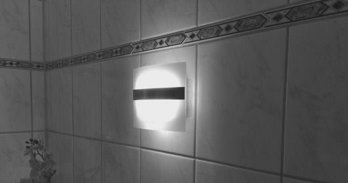 Kabellose LED Wandleuchte mit Bewegungsmelder
