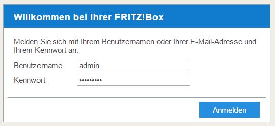 Fritz Box Login