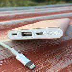 Powerbank mit Lightning und Micro USB