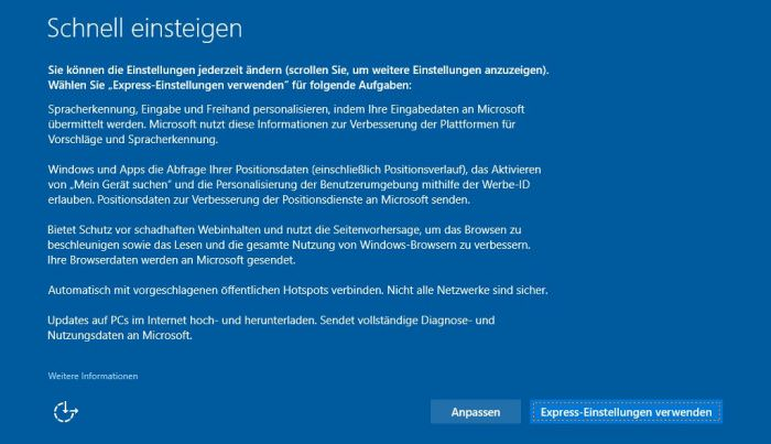 Windows 10 Audit Modus 2