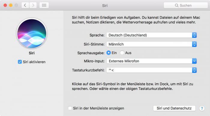 Hey Siri unter macOS Sierra aktivieren