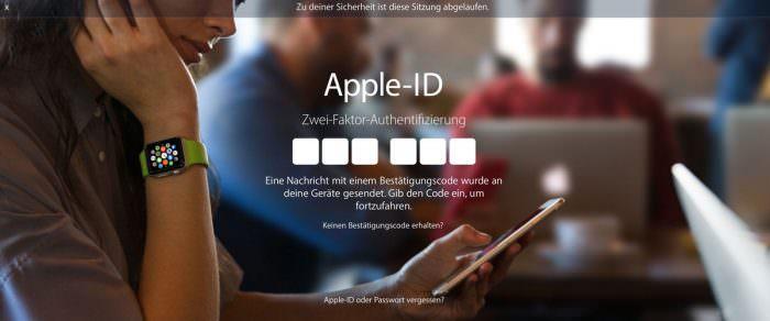 Apple Zwei-Faktor-Authentifizierung aktivieren