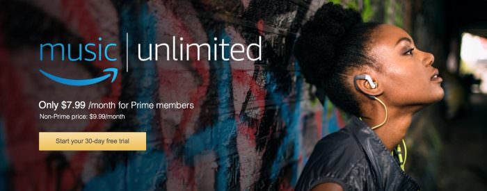 Amazon Music Unlimited ist gestartet