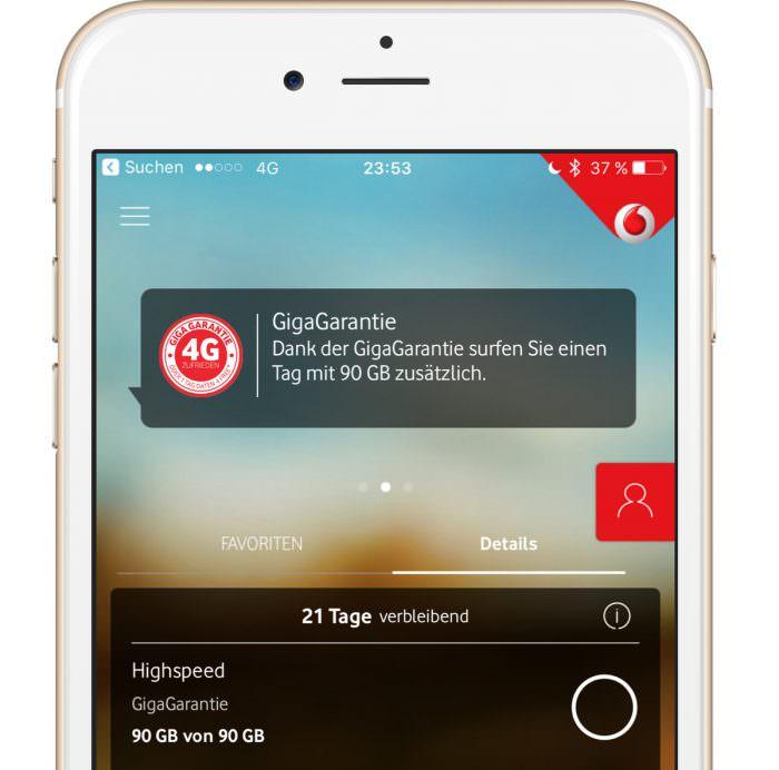 Vodafone GigaGarantie