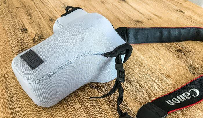 Weihnachtsgeschenk bis 20 Euro: Tasche für die Spiegelreflexkamera