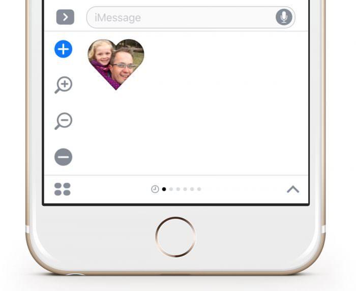 Personalisierte iMessage Sticker mit StickyPix