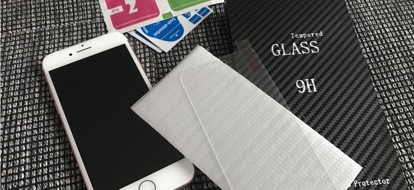 Displayschutz fürs iPhone 7 - Tempered Glass Testbericht