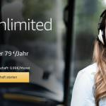 Amazon Music Unlimited in Deutschland verfügbar