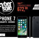 400 Stück: iPhone 7 mit 32 GB für 672€ bei Cyberport