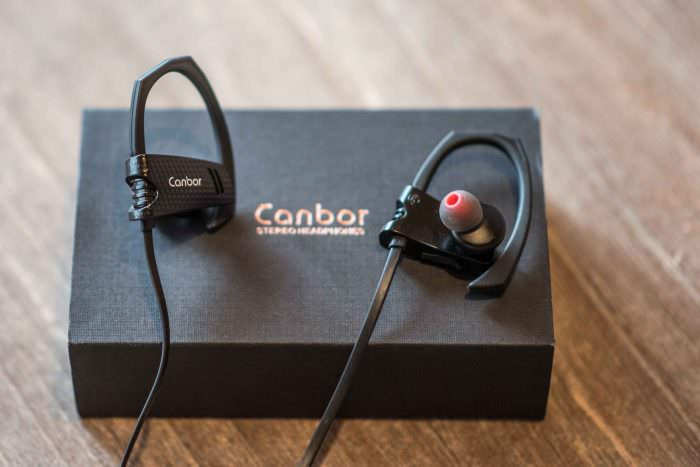 In-Ear Sportkopfhörer - Canbor Bluetooth 4.1 + 20% Rabatt