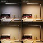 Weihnachtsgeschenk bis 30 Euro: Dimmbare LED Schreibtischlampe mit 4 angenehmen Lichtfarben