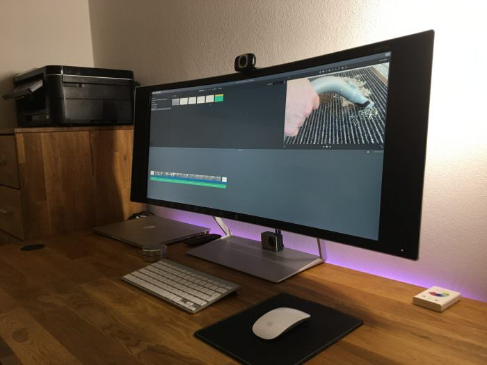 34 Zoll 4K Curved Monitor HP Envy 34c im Test