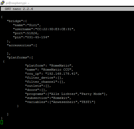 homematic-config-json