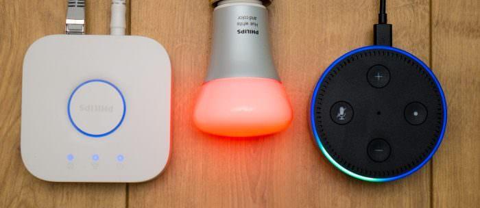 Philips Hue LED Lampen mit Alexa Steuern