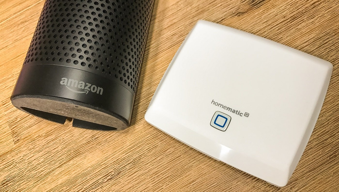 Sprachsteuerung für Homematic IP – Amazon Echo / Alexa
