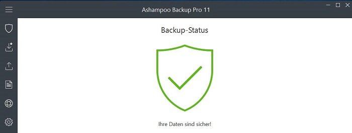 Software Test: ASHAMPOO Backup Pro 11