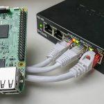 Gigabit Netzwerk Switch von D-Link für den Schreibtisch