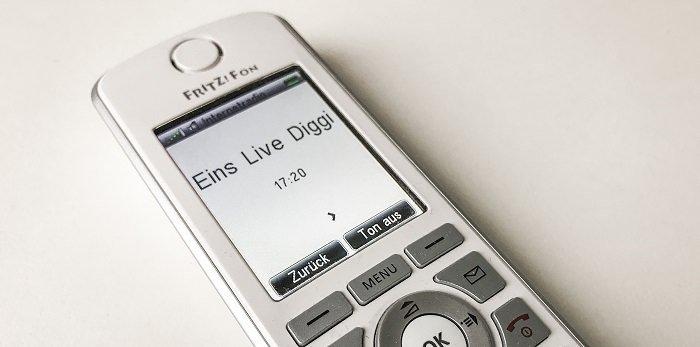 Internetradio auf dem Fritz! Fon C4 - Neue Sender hinzufügen