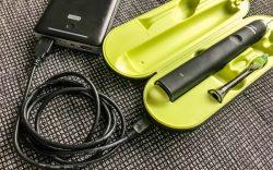Philips Sonicare im Urlaub per USB und Powerbank laden