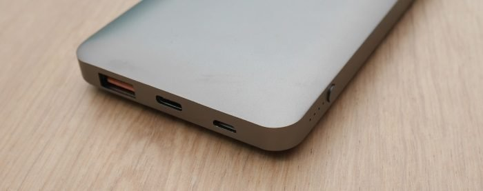Powerbank mit Quick Charge 3.0 und USB-C