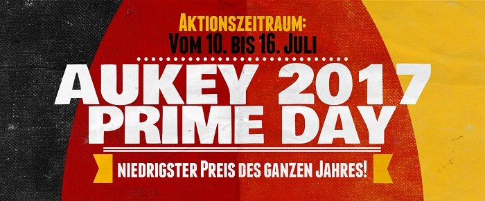 Amazon Prime Day - Aukey Rabatte