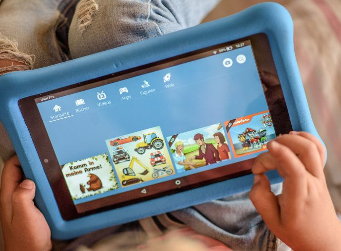 Praxistest: Amazon Fire HD 8 Tablet in der Kids Edition