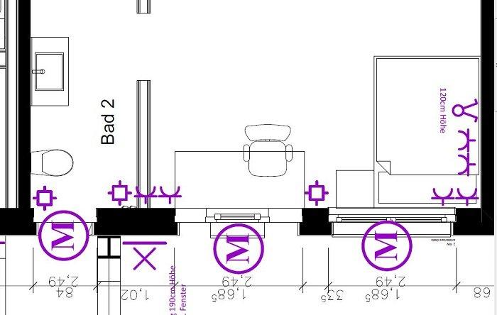 Smarthome-Planung: Installationszeichnungen erstellen