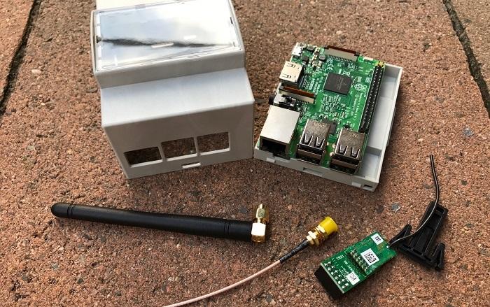 RaspberryMatic für die Hutschiene mit externer Antenne