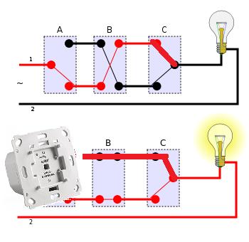 dimmer trotz wechselschaltung wiring diagram. Black Bedroom Furniture Sets. Home Design Ideas