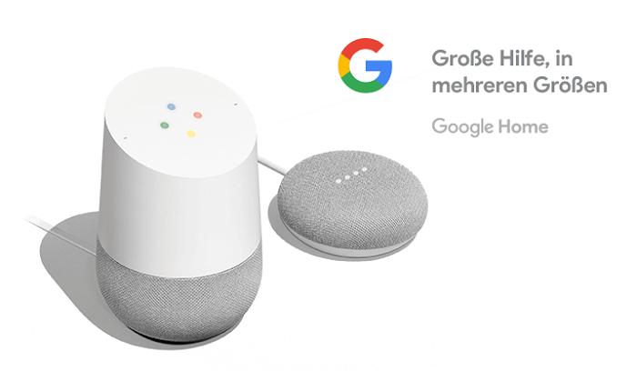 Vorstellung Google Home