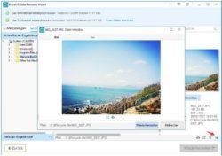 Einfache Datenrettung von gelöschten Bildern