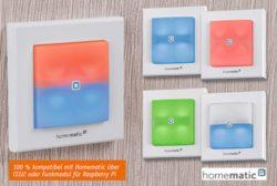 Details - Homematic IP Schaltaktor für Markenschalter – mit Signalleuchte