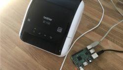 Brother QL-1100 und andere Drucker Airprint und netzwerkfähig machen mit einem Raspberry Pi und CUPS