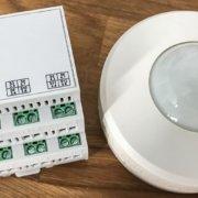 Homematic wired: Bewegungsmelder mit Relais-Ausgang zum direkten anbinden an ein IO-Modul