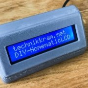DIY-Homematic LCD Statusdisplay - Script Programmierung