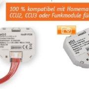 Neue Informationen - Homematic IP Kontakt-Schnittstelle Unterputz - 6-fach HmIP-FCI6